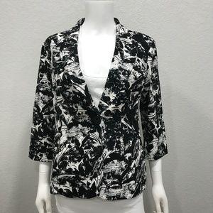 Coldwater Creek Jackets & Coats - Coldwater Creek floral pattern blazer jacket
